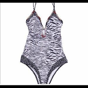 Victoria Secret animal print Monokini